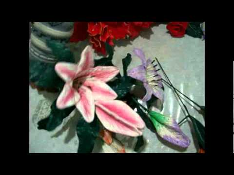 Curso Goma Eva-Foamy (flores)