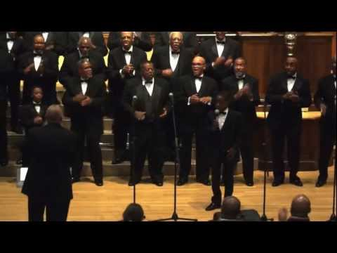 FICKLIN MEDIA 100 BLACK MEN CHORUS IN CONCERT AT YALE UNIVERSITY PART 2N