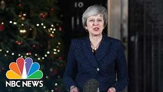 PM Theresa May Survives Brexit No-Confidence Vote | NBC News - NBCNEWS