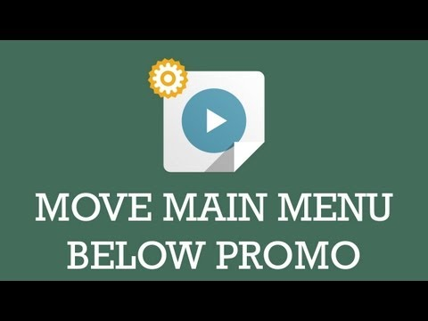Customize JSN template video : Move main