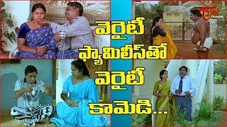 వెరైటీ ఫ్యామిలీస్ తో వెరైటీ కామెడీ | Telugu Movie Ultimate Scenes | TeluguOne - TELUGUONE