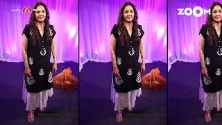 Neena Gupta's look with Black Kurta | Neena's OOTD - ZOOMDEKHO