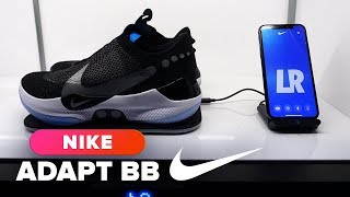 Nike Adapt BB hands-on - CNETTV