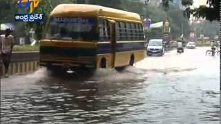 Heavy Rain Hit Continues To Coastal Areas Of Andhra Pradesh - ETV2INDIA