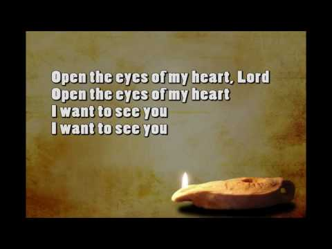 Randy Travis Open the Eyes of my Hearts with Lyrics