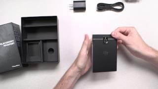 شاهد عملية فتح صندوق الهاتف BlackBerry Passport