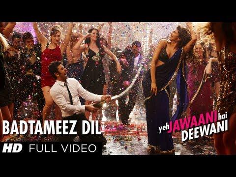 Badtameez Dil Full Song HD Yeh Jawaani Hai Deewani | Ranbir Kapoor, Deepika Padukone
