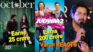 OCTOBER earns 25 crore only, INTERVIEW of Varun Dhawan - IANSLIVE