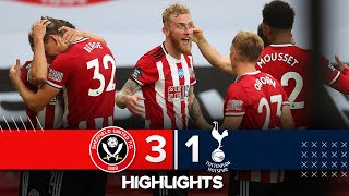 Sheffield United 3-1 Tottenham Hotspur | Premier League Highlights | Sander Berge nets against Spurs