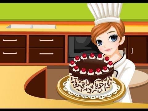 Tessa hace Pastel de la Selva Negra - Juegos de Cocinar - Titter.es