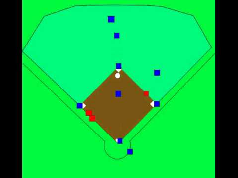 Baseball Defense Positioning Cut4 CF