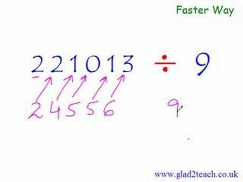 Secret Trick : Math Division Long