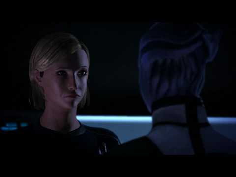 Mass Effect 1: Liara and Female Shepard Romance in 1080p