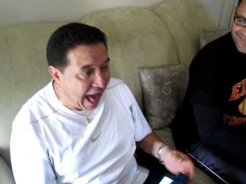 Surprising the family I'm pregnant (Grandpa's reaction is the best) ? Video ...