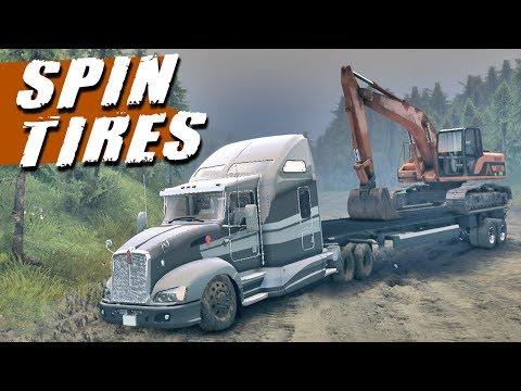 Spin Tires - Caminhão Kenworth T660