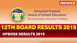 Himachal Pradesh 12th Results 2019: HPBOSE declares Class 12 results @ hpbose.org - NEWSXLIVE