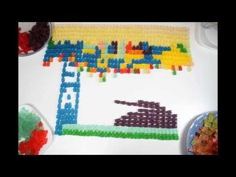 Gummy Bear x Video Games Stop Motion