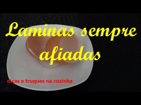 44º SAIBA COMO AFIAR AS LAMINAS DO LIQUIDIFICADOR