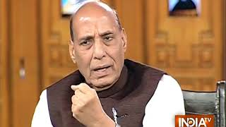 Home Minister Rajnath Singh on BJP taking over maximum states of the country - INDIATV
