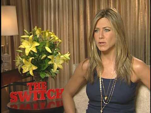 THE SWITCH Interviews with Jennifer Aniston and Jason Bateman