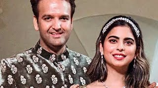 Isha Ambani to wed Anand Piramal today - TIMESOFINDIACHANNEL