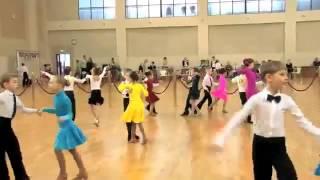 Спортивные бальные танцы - категория дети