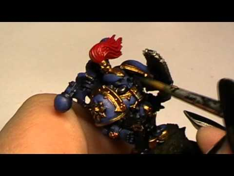How to paint a Nightlord Chaos Space Marine part 2