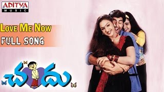 Chandu Telugu Movie || Love Me Now Full Song || Pavan Kuamr, Preethi - ADITYAMUSIC