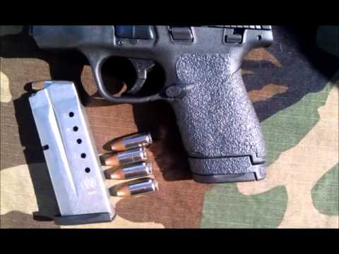 Tractiongrips grips now available for S&W M&P Shield pistols