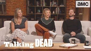 'Mo, Jenna & Aaron on Their Character Decisions' Highlights Ep. 830 | Talking Dead - AMC