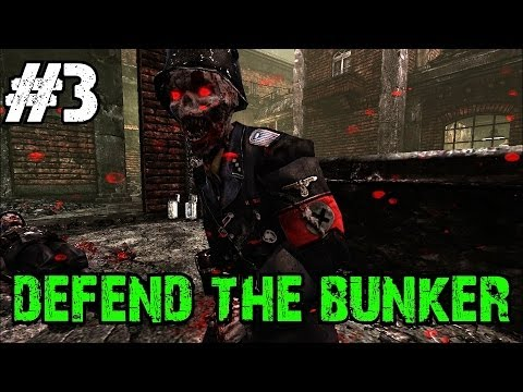 Custom Zombies - Defend the Bunker | Lack of Ammo Our Downfall? (Part 3)