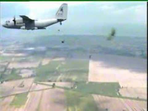 Airborne Warfare: Fascinating C-27J Rear & Side Door Exits