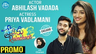 Premaku Raincheck Movie Actors Abhilash & Priya Interview - Promo || Talking Movies With iDream - IDREAMMOVIES
