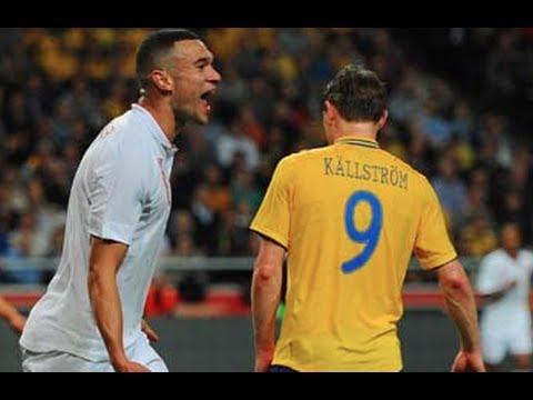 Sweden v England 4-2 Pitchside Highlights | England 14/11/12