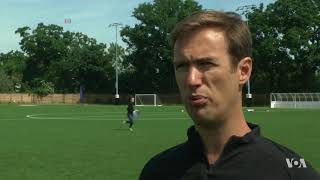 Technology Makes Soccer Training More Efficient - VOAVIDEO