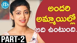 Actress Pranitha Exclusive Interview Part #2 || Talking Movies With iDream - IDREAMMOVIES
