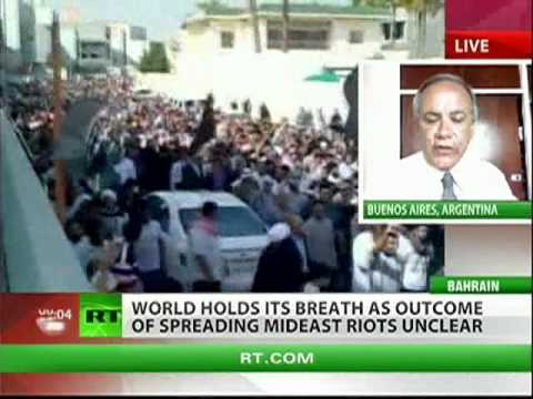 Middle East infected by protests