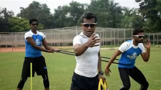 Resistance Catching Drills with Chinmoy Roy - CRICKETWORLDMEDIA