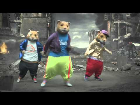 Party Rock Anthem (Hamsterdance Remix) - LMFAO - Kia Soul Hamster Commercial OxxTV