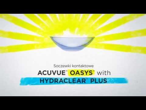Acuvue Oasys with Hydraclear - zmęczone oczy | OPTO.blog - optometria.info