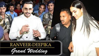MUST WATCH: Ranveer Singh & Deepika Padukone Fly to Italy with Family - HUNGAMA