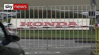 Honda set to announce closure of Swindon plant in 2022 with 3,500 jobs at risk - SKYNEWS