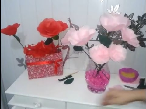 Aula 13 - Flores de Papel de Seda