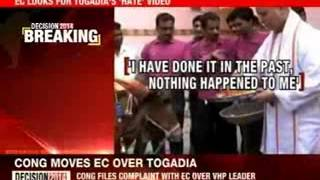 Election Commission seeks Togadia's clip - NEWSXLIVE