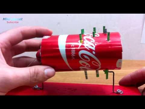 اصنع بنفسك مدفأة باستخدام علبة الكولا...How to make a heating element using a cola can