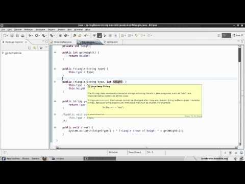Spring Tutorial 06 - Using Constructor Injection