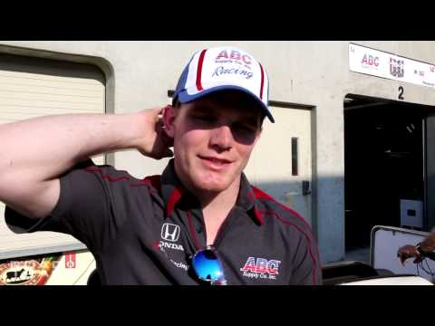 Day 4: First Crash at Indianpolis, Indy 500 Rookie Conor Daly Hits the Wall Hard at the Brickyard