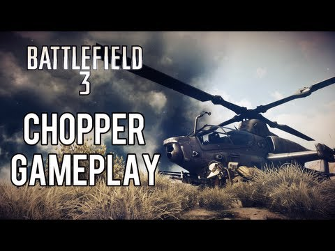 Battlefield 3 Online Gameplay Chopper Action Good News Day