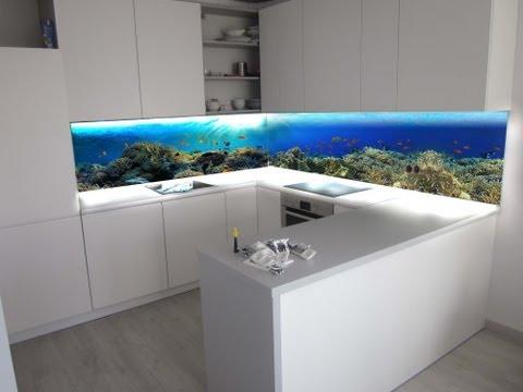 ZOBACZ niesamowite Panele szklane z grafiką do kuchni | szkło w kuchni