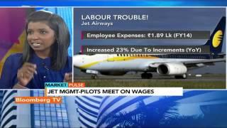 Market Pulse: Jet-Pilots Meet On Salary Arrears - BLOOMBERGUTV
